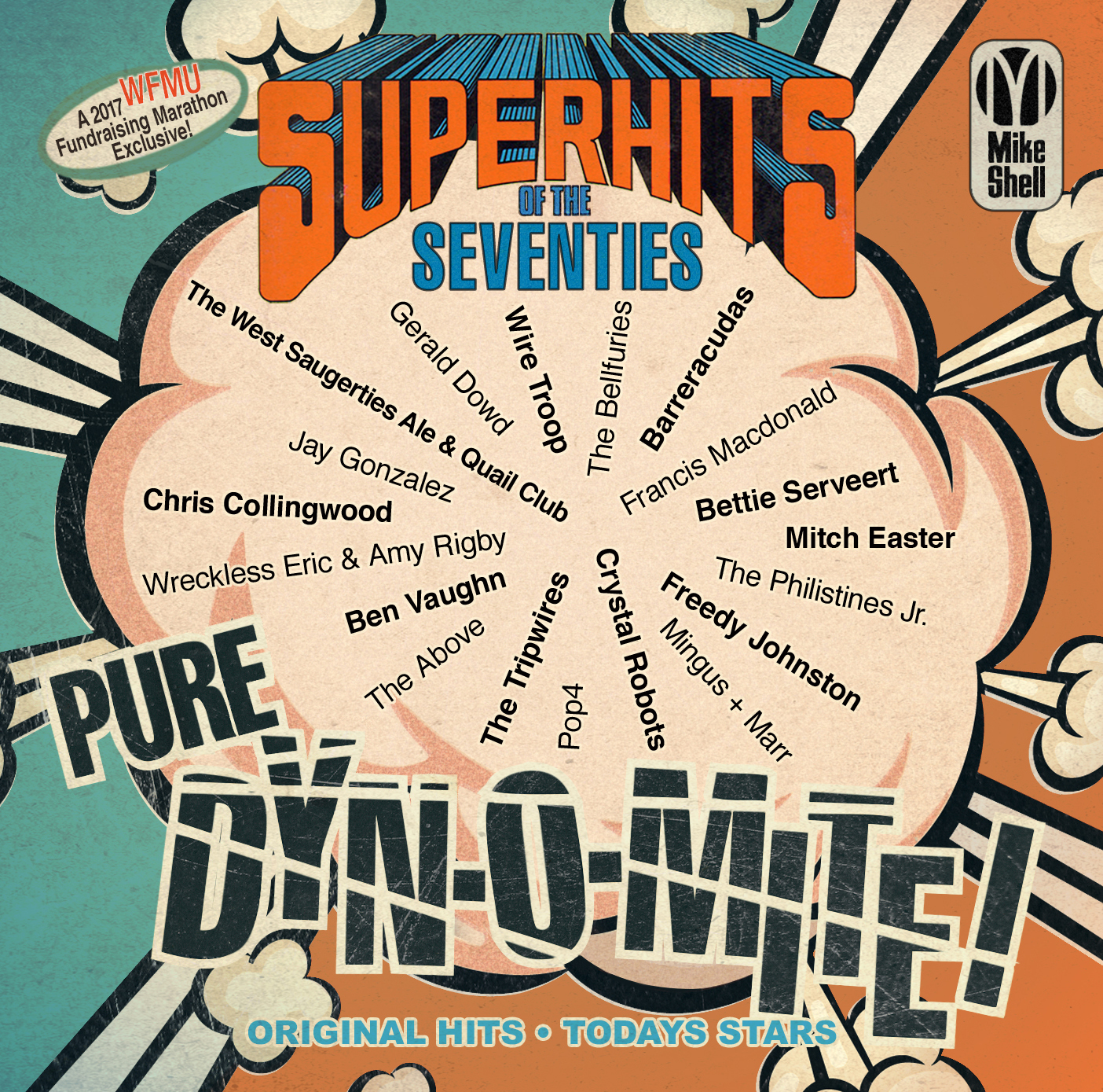 WFMU Super Hits of the Seventies front cover