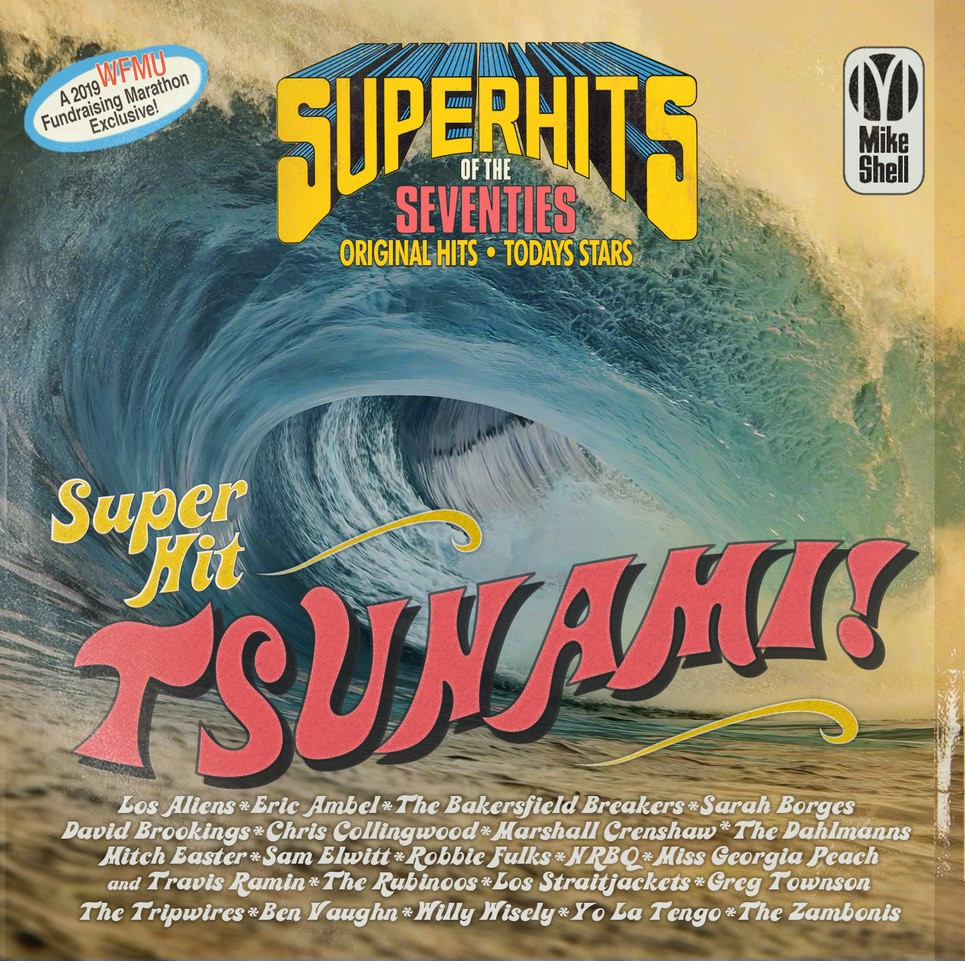 WFMU Super Hits of the Seventies Super Hit Tsunami front cover