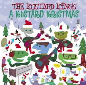 Kustard Kings Kristmas CD cover
