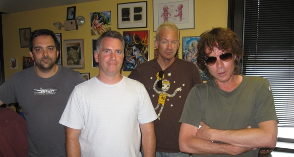 Michael Shelley with Fountains of Wayne at WFMU