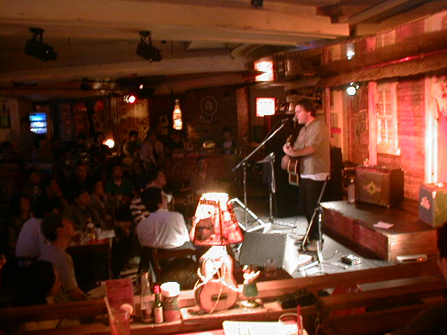 Solo acoustic in Japan